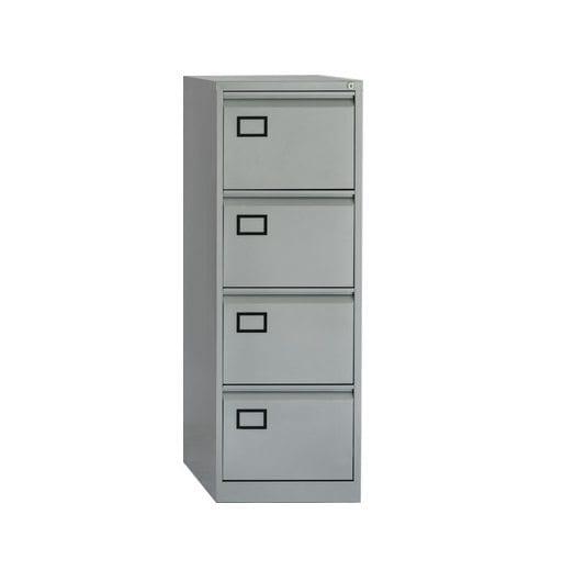 Bisley AOC 4 Drawer Economy Filing Cabinet