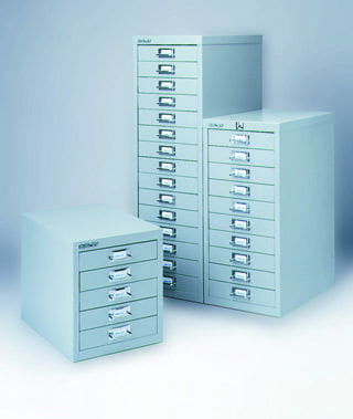 Bisley 10 Drawer Multi Drawer Cabinet