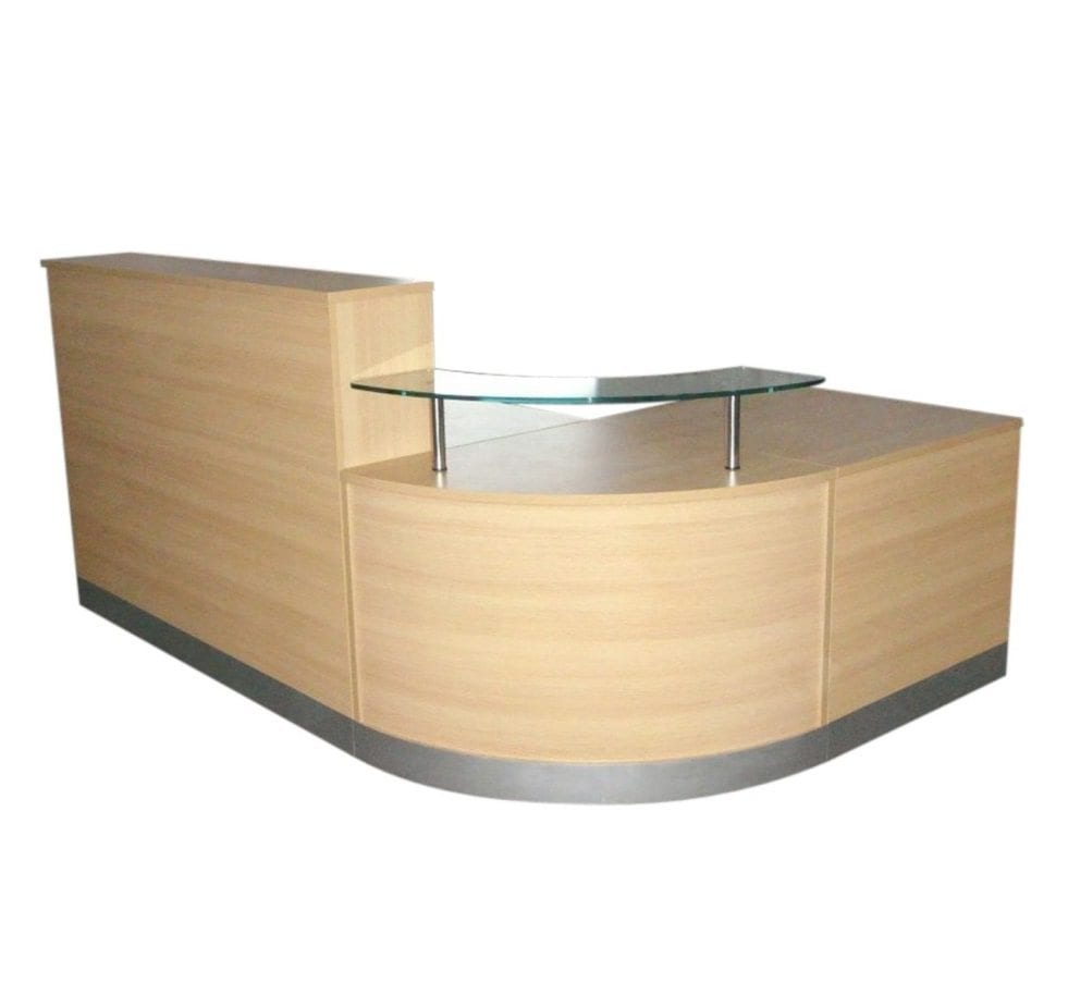 reception desk penningtons office furniture. Black Bedroom Furniture Sets. Home Design Ideas
