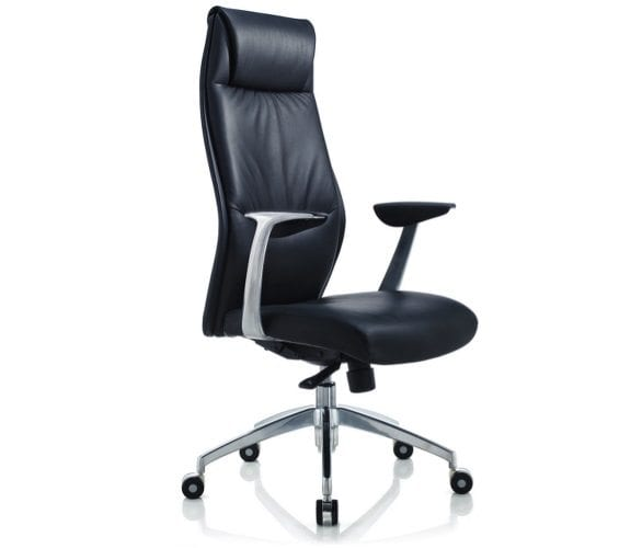 Faux Leather High Back Executive Chair Penningtons Office Furniture