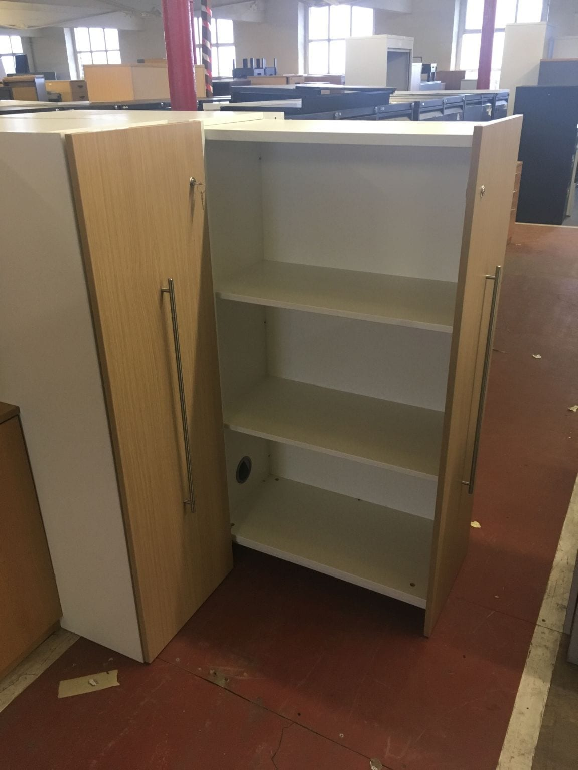 Hidden school library bookcase penningtons office furniture for Used school furniture outlet