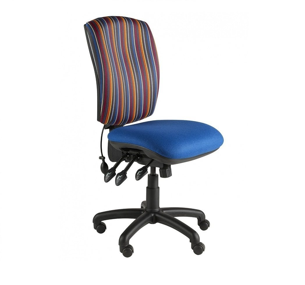 High Square Back Task Chair Penningtons Office Furniture