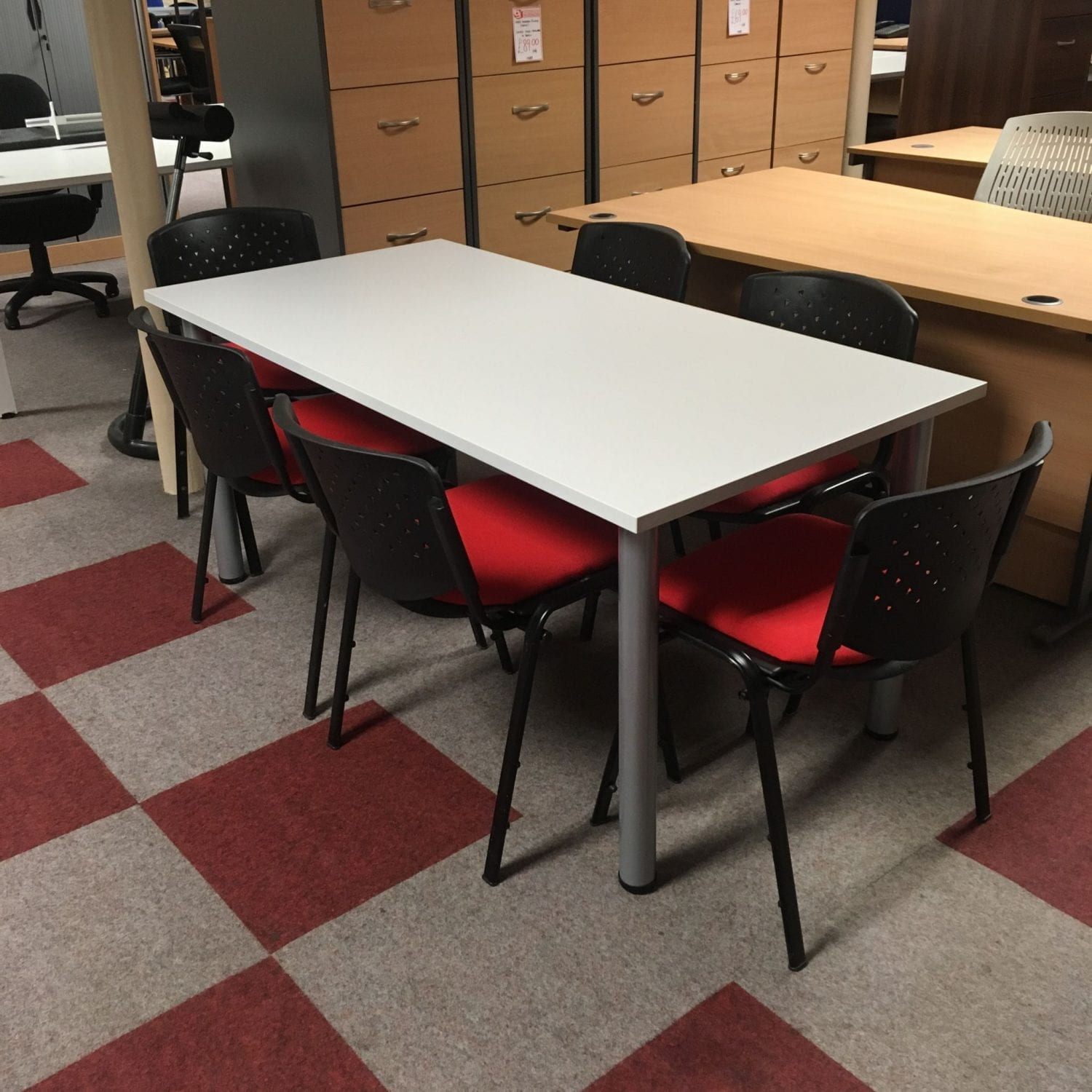 Grey Conference Table Penningtons Office Furniture