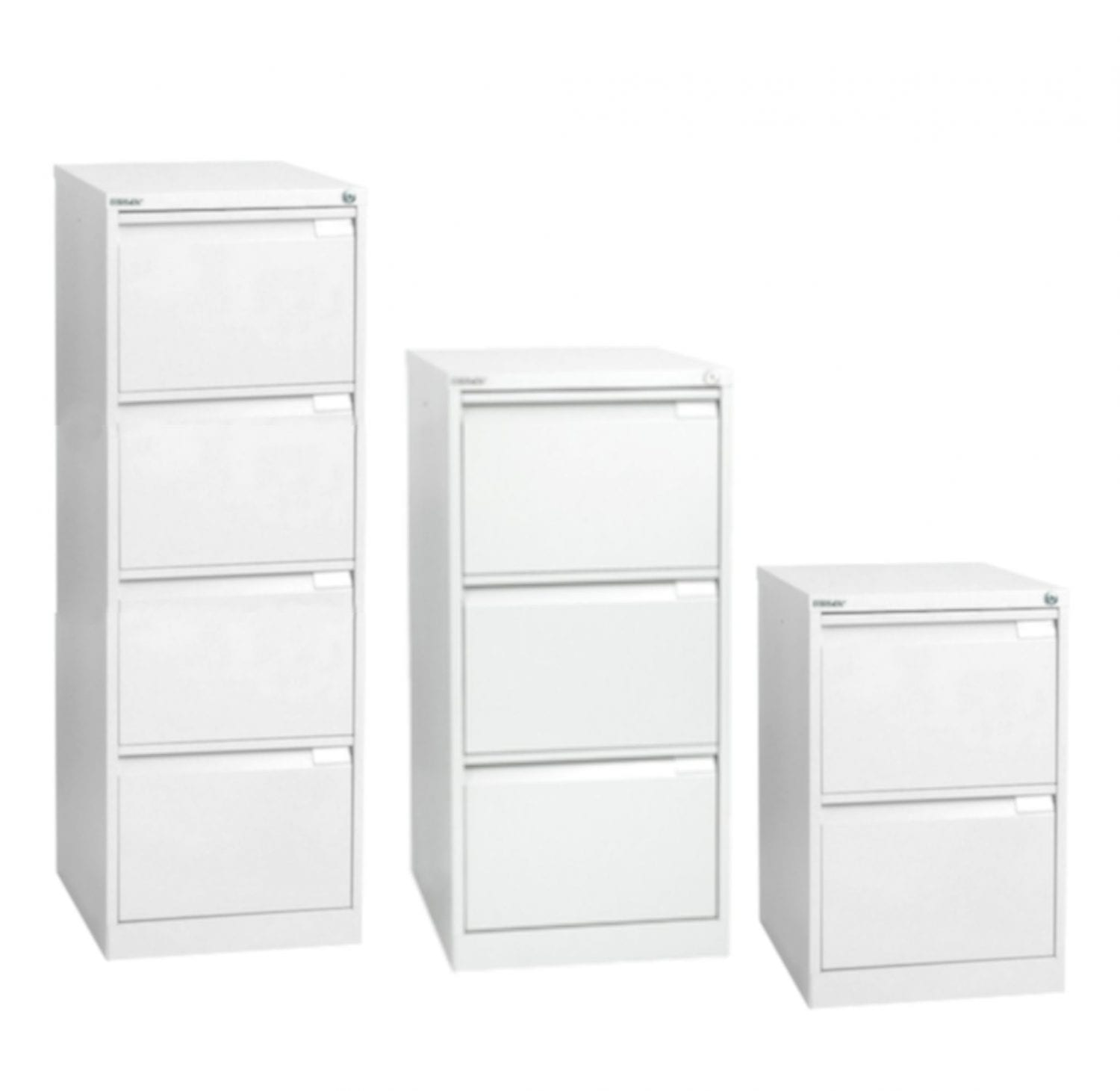 Bisley Bs Exec Filing Cabinet Traffic White