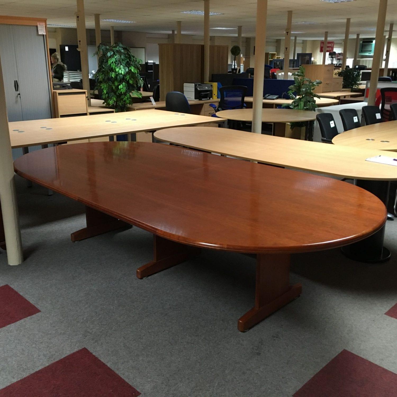 Veneer Boardroom Table Penningtons Office Furniture