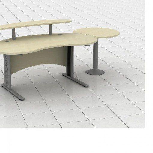 Kidney Shaped Reception Desk